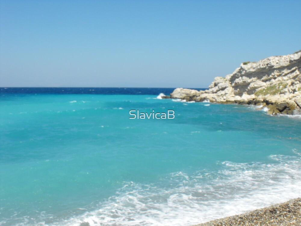 Greek Island Samos Beach 3 #photograph by SlavicaB