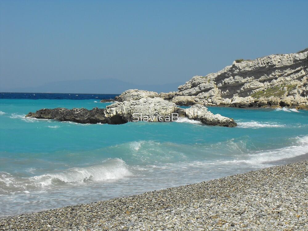 Greek Island Samos Beach 5 #photography by SlavicaB