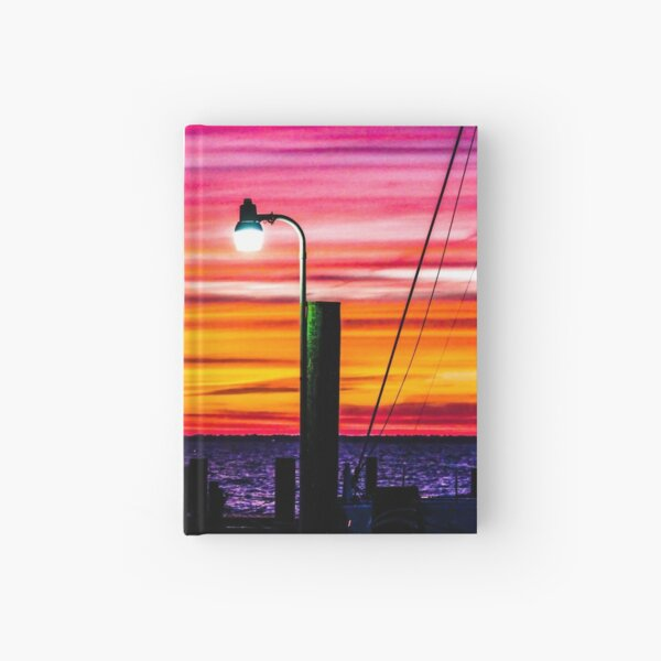 Leave the Light On Hardcover Journal