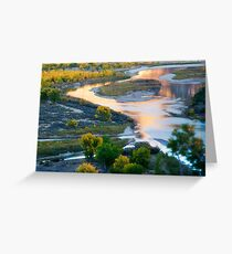 Island Park Autumn Reflections Greeting Card