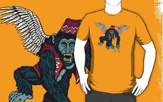 Flyin' Monkey T-Shirt