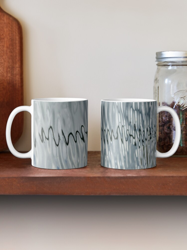 Alternate view of Abstract Line 1 Mug
