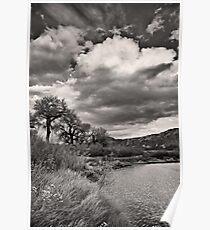 Island Park Cloudscape Poster