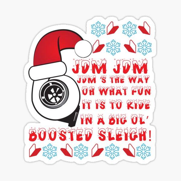 JDM Xmas Sticker