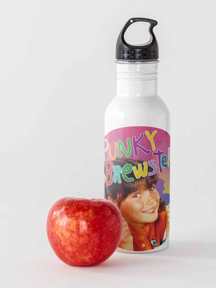 Alternate view of Punky  - vintage 80s TV show sitcom Water Bottle