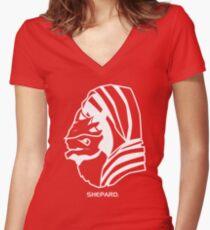 Wrex. Shepard. Women's Fitted V-Neck T-Shirt