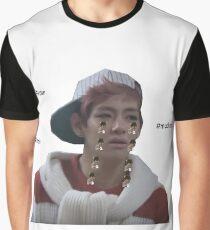 TAEHYUNG/V CRYING JIMIN - KPOP - HUMOUR Graphic T-Shirt