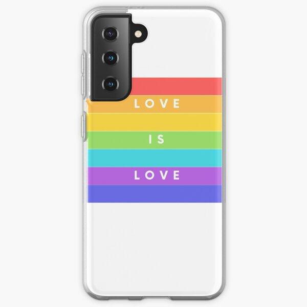 LOVE IS LOVE Samsung Galaxy Soft Case