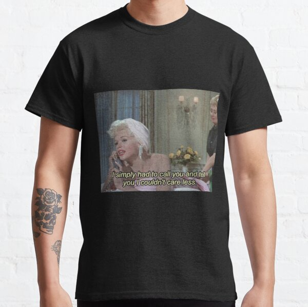 'i dont care' graphic tumblr aesthetic  Classic T-Shirt