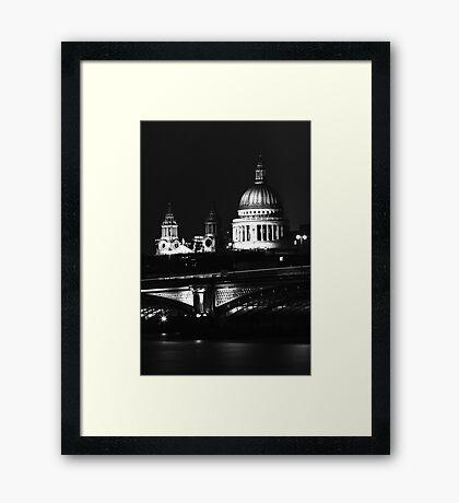 St Paul's 3 Framed Print