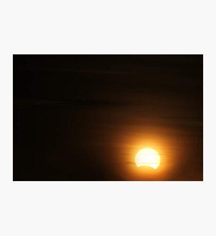Solar Eclipse - November 14 2012 Photographic Print