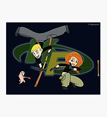 Kim Possible Flow Arts Photographic Print