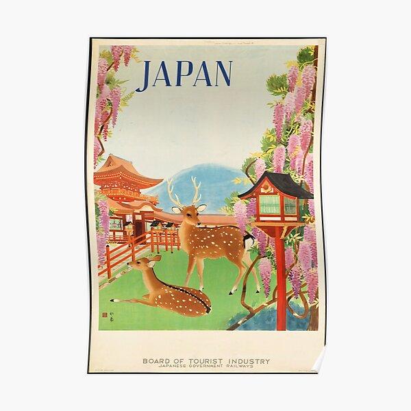 Vintage Travel Poster: Japan Poster