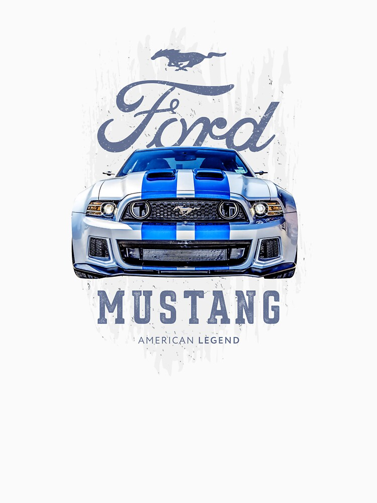 Ford mustang GT 500 American muscle car   Shelby cobra by Svinil