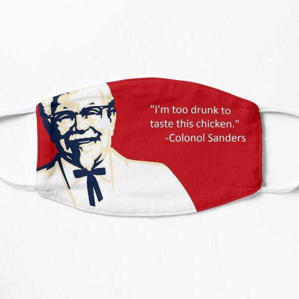 Drunk Colonel Sanders KFC Meme Flat Mask