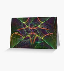 Spiral Symmetrics Greeting Card