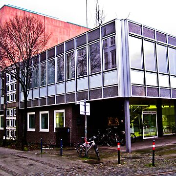 Bremen State Archive Building by pseudoimagery