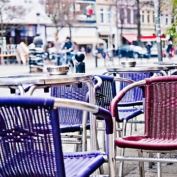 Bremen Street Cafe Chairs - Viertel by pseudoimagery
