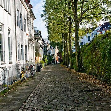 Street - Viertel  by pseudoimagery