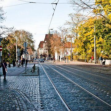 Street - Viertel (Ostertorsteinweg) by pseudoimagery