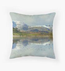 The Wetherlam Series ~ November Snow Throw Pillow