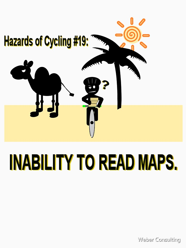 Cycling Hazards - Bad GPS by HalfNote5