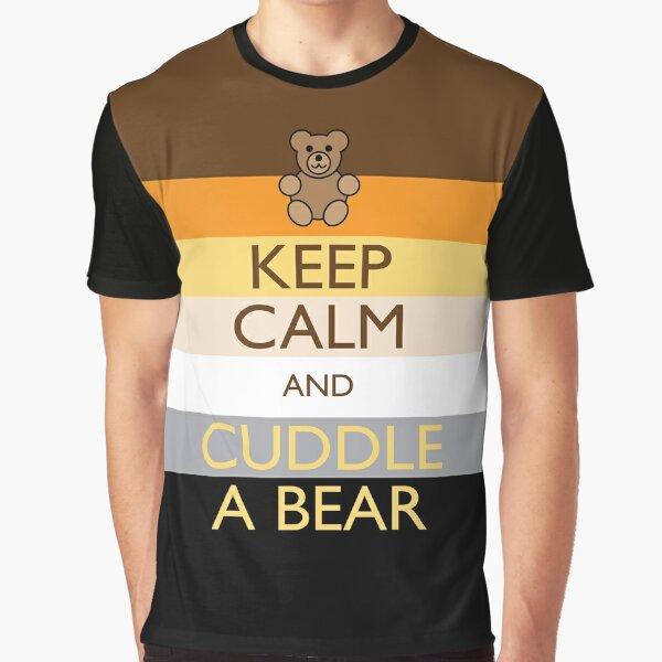 Calm Bear Graphic T-Shirt