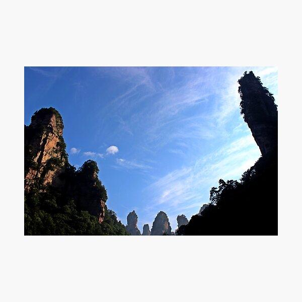 Wulingyuan national Park, Hunan Photographic Print