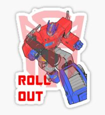 Optimus Prime - Roll Out Sticker