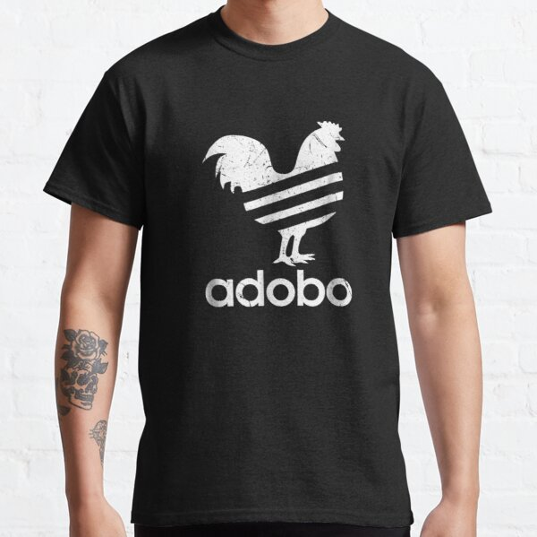 Adobo - Distressed Graphic Classic T-Shirt