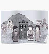 2nd Doctor and his companions Poster