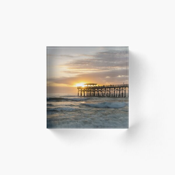 Space Coast First Sunrise Acrylic Block
