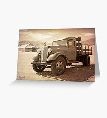 Hot August Chevy Greeting Card