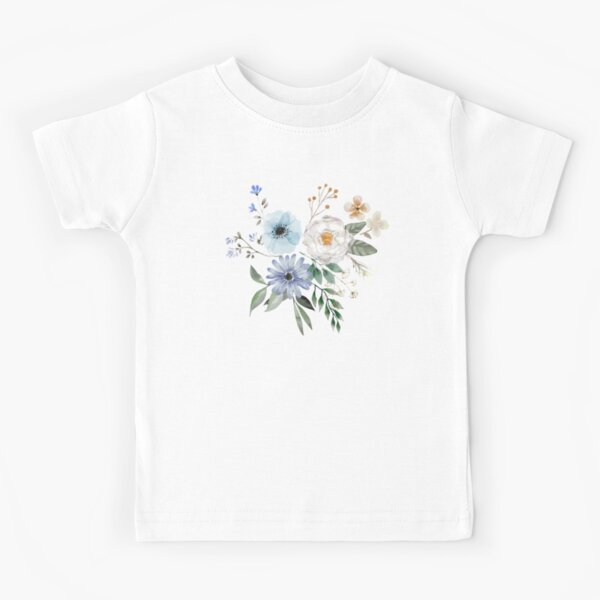 Flowers To Draw Kids T Shirts Redbubble