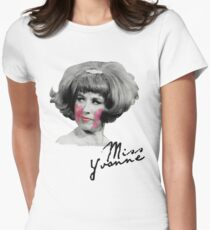 Miss Yvonne Womens Fitted T-Shirt