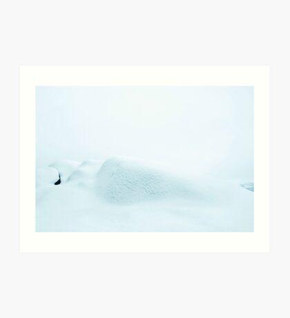 Snø Art Print
