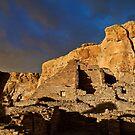Chaco Canyon Stormlight 2 by Kim Barton