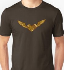 Steampunk Heart Slim Fit T-Shirt