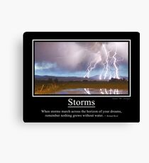 Storms Canvas Print