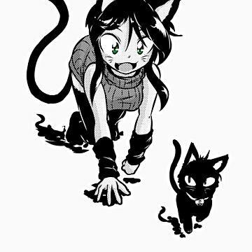 Curious Kitty by ragingtofu