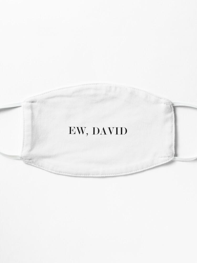 Alternate view of Ew, DAVID #White Mask