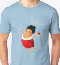 Spaghetti Pasta Lady Unisex T-Shirt