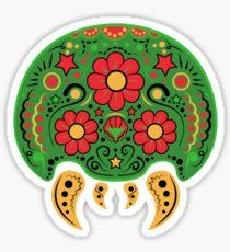 Dia De Los Metroids Sticker
