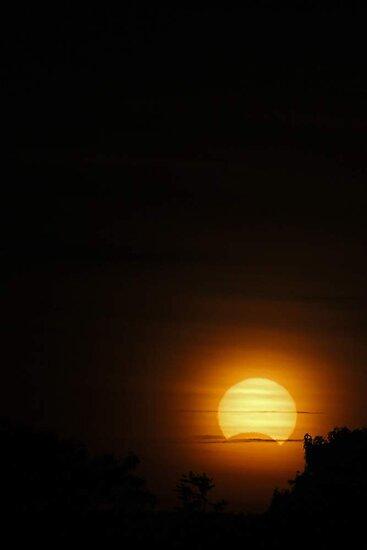 Solar Eclipse - November 14 2012  by EOS20