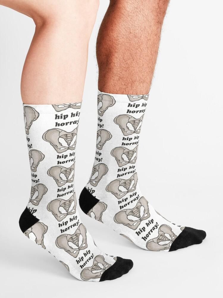 Alternate view of hip hip horray! Socks