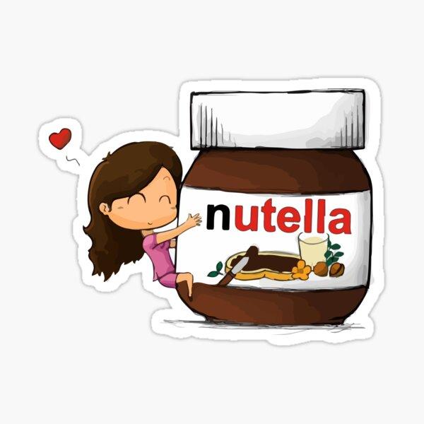 nutella love Pegatina