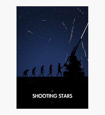 99 Steps of Progress - Shooting stars Photographic Print