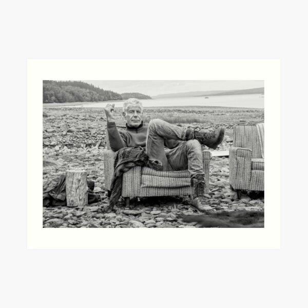 Sea Bourdain Side Art Print