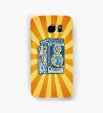 Minolta Vintage Twin Reflex Illustrated iPhone Case Samsung Galaxy Case/Skin