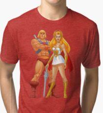 He-Man And She-Ra Tri-blend T-Shirt